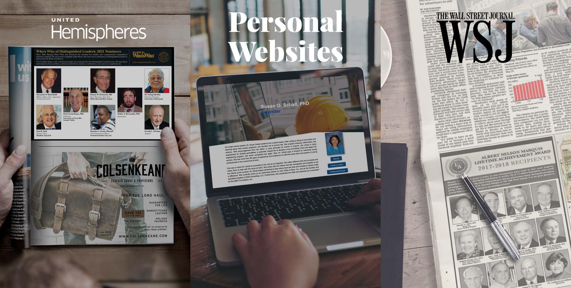 united hemipsheres personal websites wall street journal WSJ